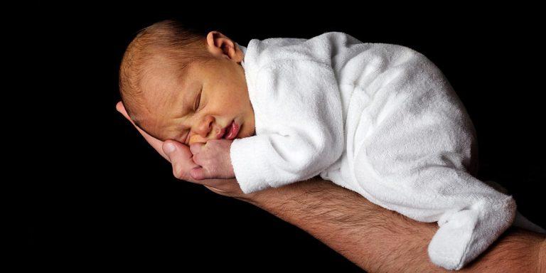 spokojné malé deti zaspia hocikde