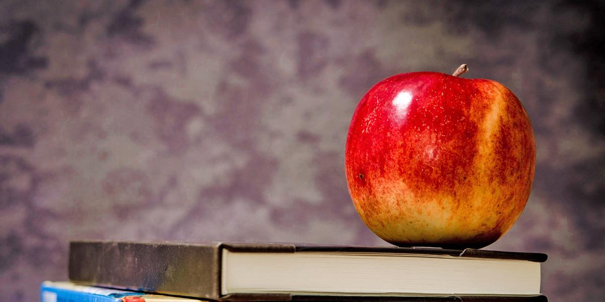 jablko ako príkrm - súčasť prirodzeného prikrmovania
