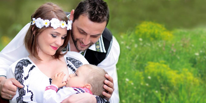 dojčenie je u prírodných národov prirodzená súčasť procesu starostlivosti o dieťa